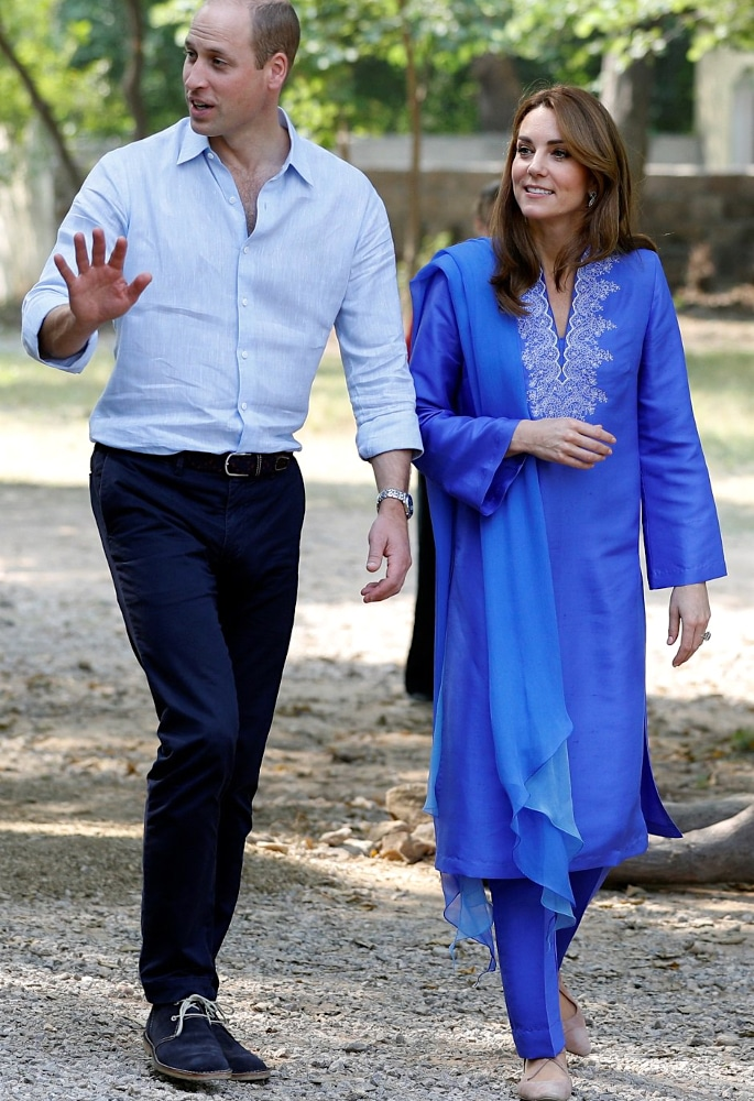 Kate Middleton stuns in Ethnic Outfits for Pakistan Visit - p1
