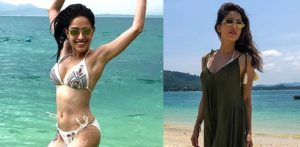 Nushrat Bharucha scores Beach Goals in Phuket f