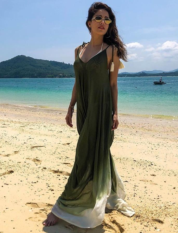 Nushrat Bharucha scores Beach Goals in Phuket - p3