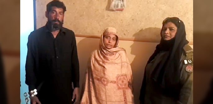 Pakistani Couple held for Filming Rape to Blackmail Women f