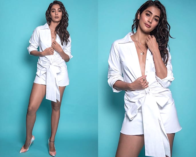 Pooja Hegde stuns in Sexy Outfits for Housefull 4 Promotions - dress 1