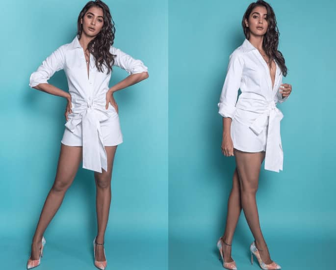 Pooja Hegde stuns in Sexy Outfits for Housefull 4 Promotions - dress 2