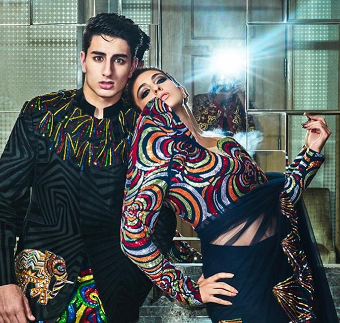 Sara Ali Khan and Ibrahim's Magazine Photoshoot goes Viral - p1