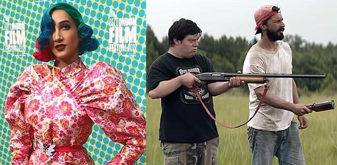 Sukki Singapora attends 'Peanut Butter Falcon' BFI Premiere f