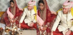 Swedish Man marries Indian Woman in a Traditional Ceremony
