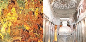 The Artistic Importance of Ajanta Caves in India f 1