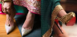 7 Beautiful Footwear Styles to Wear with a Saree