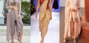 10 Stunning Dhoti Style Outfits to Wear f