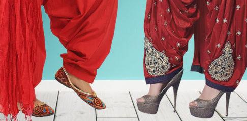 7 Shoe Styles to Wear with Women's Salwar Kameez ft