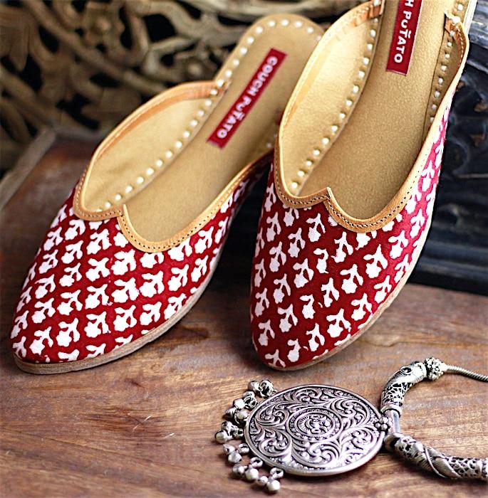 7 Shoe Styles to wear with Women's Salwar Kameez - juttis