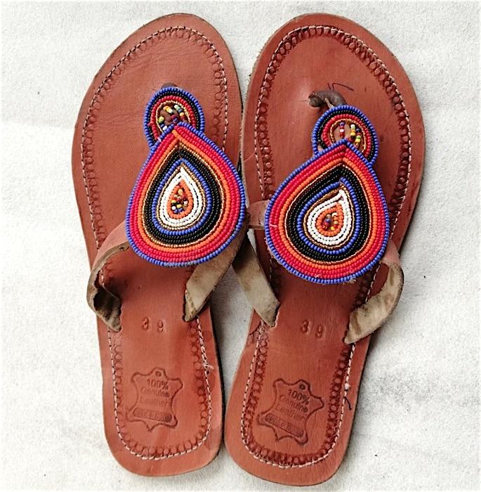 7 Shoe Styles to wear with Women's Salwar Kameez - slippers
