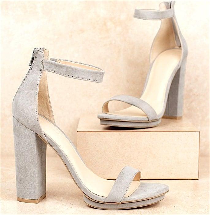 7 Shoe Styles to wear with Women's Salwar Kameez - strap heels