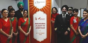 Air India launches direct service between London & Amritsar f
