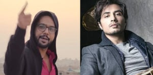 Ali Gul Pir 'disses' Ali Zafar in his song Karle Jo Karna Hai f