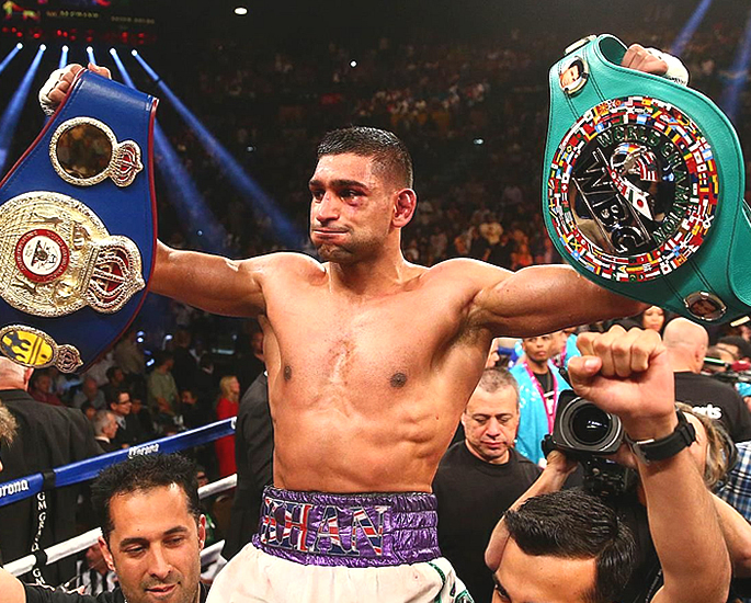Amir Khan believes He should be Honoured by The Queen