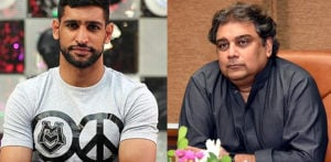 Amir Khan 'discredited' in Twitter Feud over Riffat Khan f