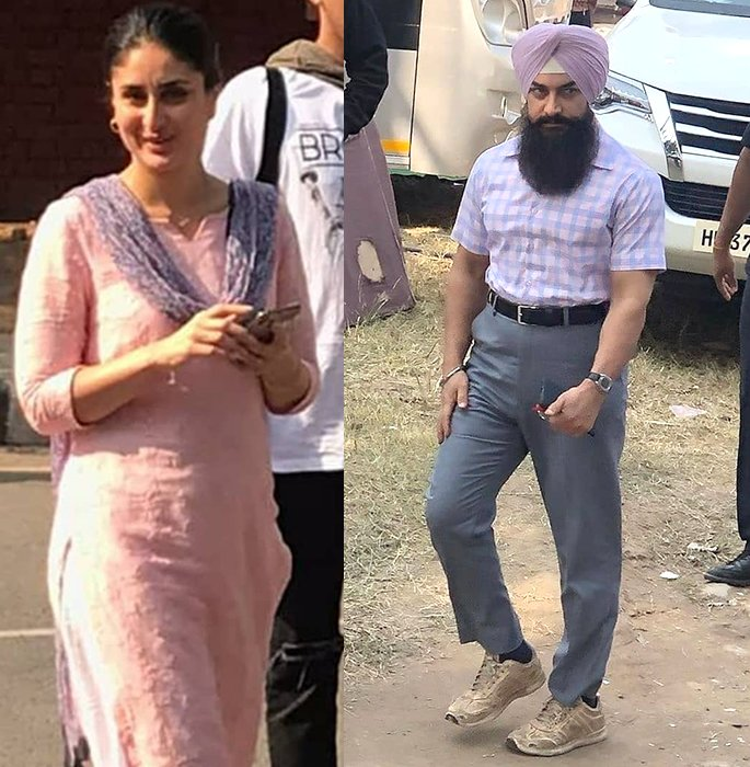 Amir Khan's Laal Singh Chaddha Look gets Fan Praise - set