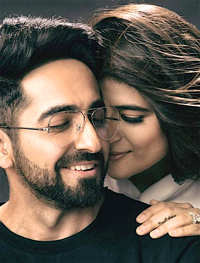 Ayushmann Khurrana's Love Scenes made Wife Insecure - couple 2
