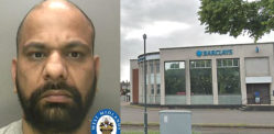 Bank Robber jailed who Threatened to Slit a Customer's Throat