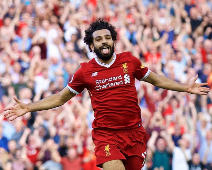 Mohamed Salah Top 20 Goals For Liverpool FC - IA 2