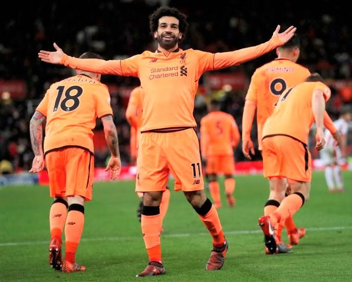 Mohamed Salah Top 20 Goals For Liverpool FC - IA 4