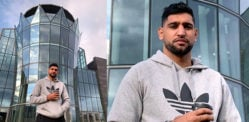 बॉक्सर आमिर खान कहते हैं कि काम शुरू करने के लिए अपने £ 5 मीटर शादी स्थल पर