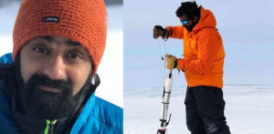 Dr Vishnu Nandan only Indian in Largest Arctic Expedition f