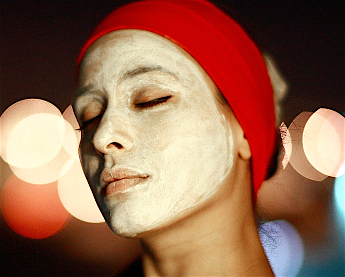 Ghee and Clarified Butter Health and Beauty Benefits - face mask