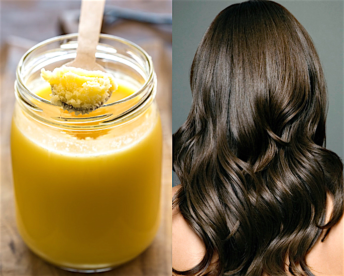 Ghee and Clarified Butter Health and Beauty Benefits - hair