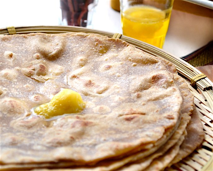 Ghee and Clarified Butter Health and Beauty Benefits - roti