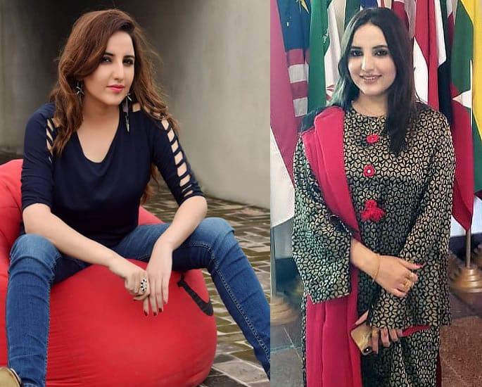 Hareem Shah denies Leak of Private Shaheen Afreen Video - hareem shah
