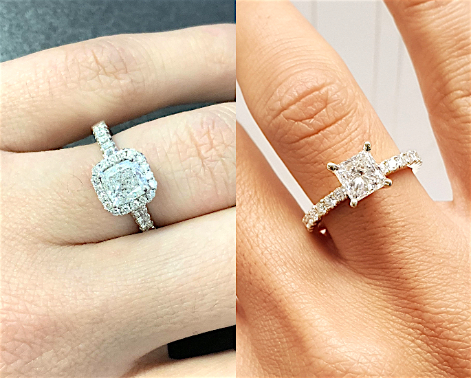 How to Find the Perfect Diamond Ring for your Desi Wedding - cushion&princess