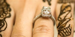 How to Find the Perfect Diamond Ring for your Desi Wedding