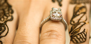How to Find the Perfect Diamond Ring for your Desi Wedding f