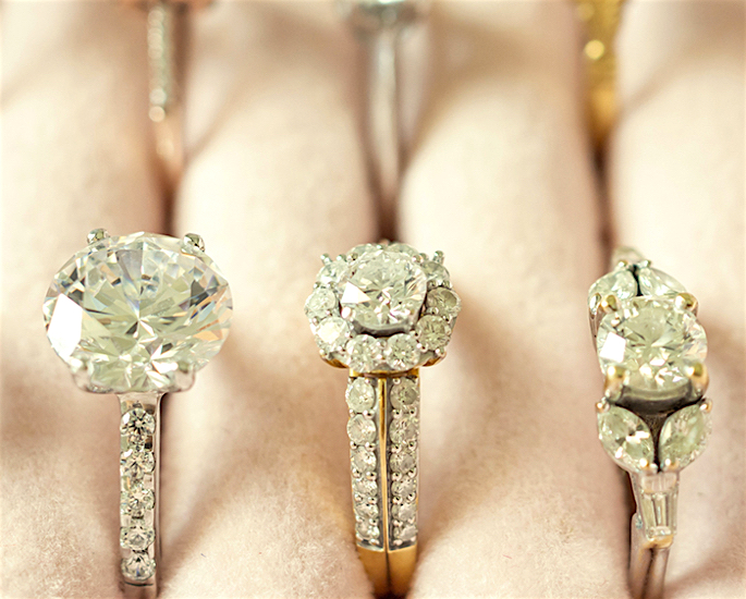 How to Find the Perfect Diamond Ring for your Desi Wedding - multiple