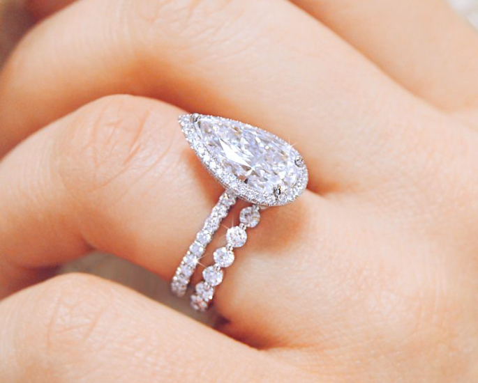 How to Find the Perfect Diamond Ring for your Desi Wedding - pearl