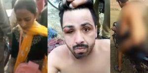 Indian Harasser of GIrl stripped Naked & Forced on Bike f
