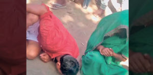 Indian Youth and Woman Beaten and Spat on for Affair f