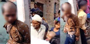 Indian Youths Beaten & Head Shaved for Married Woman Affair f