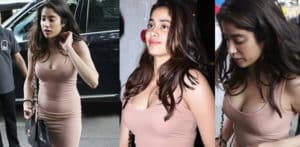 Janhvi Kapoor gets Trolled for wearing Bodycon Dress f