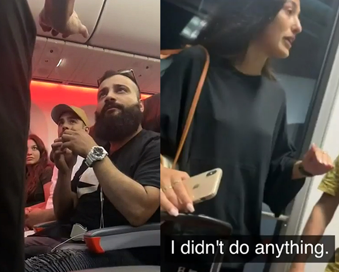 Newlyweds and 20 Guests kicked off Flight for 'Ethnicity' - get off