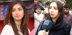 Pakistani Actress Komal Aziz witnesses Murder in Karachi