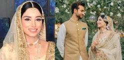 پاکستانی کھیلوں کی پیش کش زینب عباس کی شادی ہوگئی