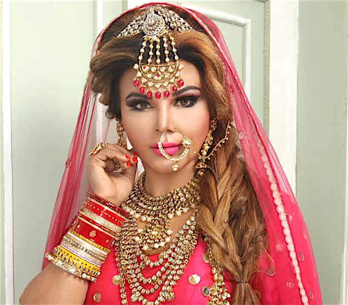Rakhi Sawant says Husband was a 'Virgin' when They Married - pink