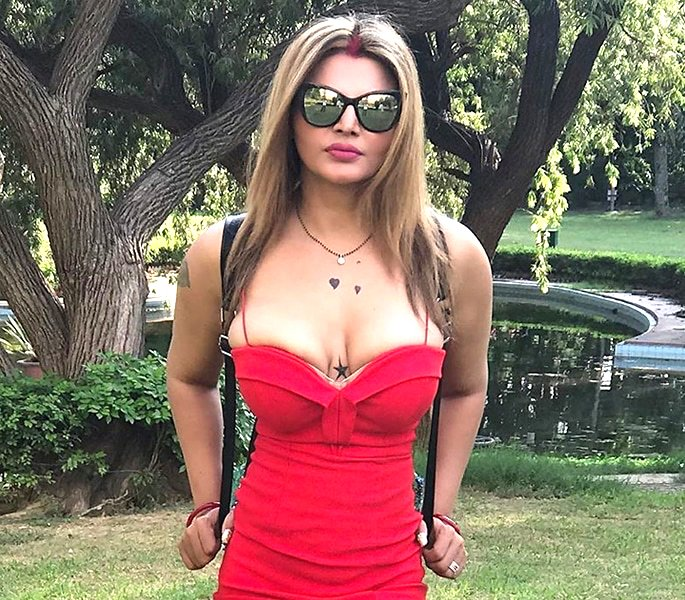 Rakhi Sawant says Husband was a 'Virgin' when They Married - red