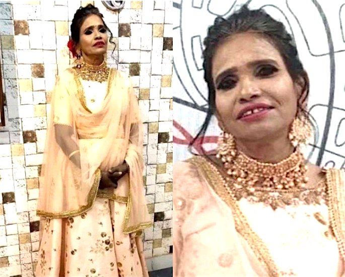 Ranu Mondal trolled for Makeup Picture which went Viral - p1