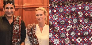 Sindhi Ajrak: Truly an Historic and Beautiful Art Form F