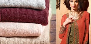 Stylish Knitwear to wear with Salwar Kameez ft