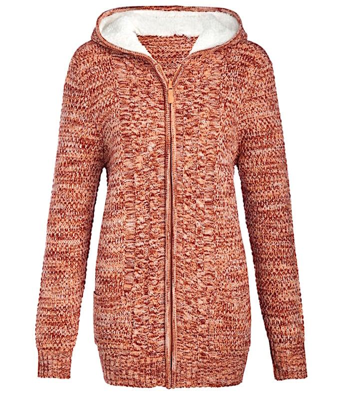 Stylish Knitwear to wear with Salwar Kameez - hooded