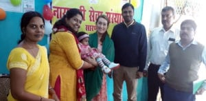 Swedish Couple adopt Baby Indian Girl who was Discarded f